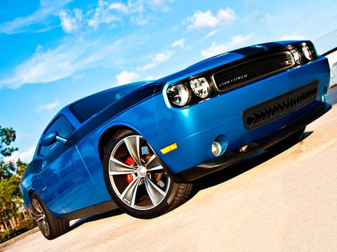 "Dodge Challenger 5.7 and SRT 8 Grille Black ""Shark Tooth"" Lower Front 2008-2010 only"