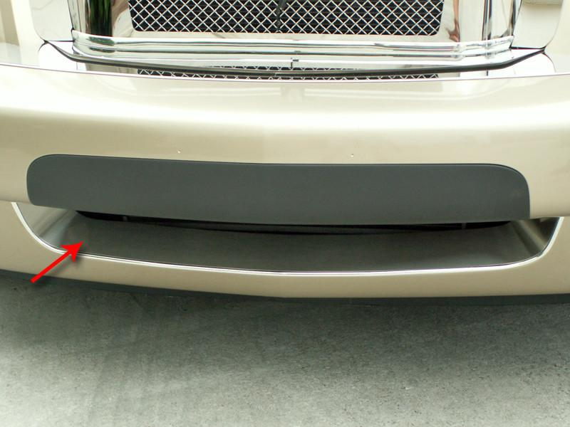 HHR Bumper Grille Insert Polished Front Lower 2006-2010 Standard HHR Only American Car Craft