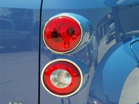 HHR Taillight Trim Polished w/Brushed Rings 2006-2012