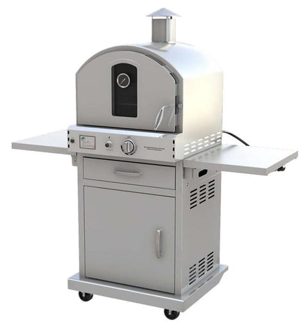 Pacific Living - Stainless Steel Outdoor Oven With Cart - EcoBrandsNow
