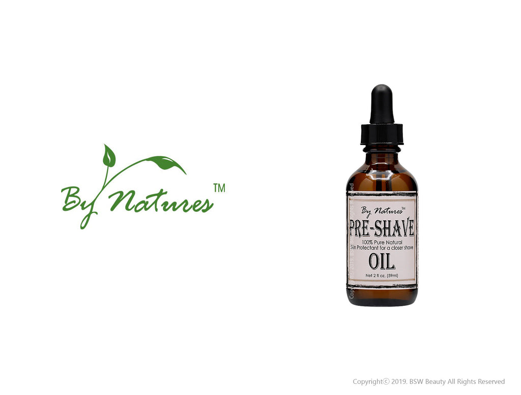 BY NATURES PRE-SHAVE OIL 2oz