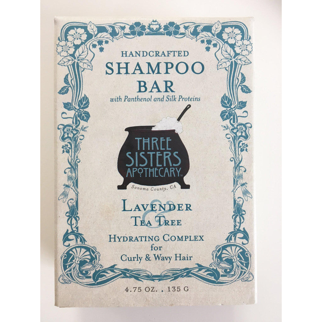 Shampoo Bar Lavender Tea Tree