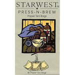 "Press-N-Brew Tea Bags 2.5"" x 2.5"""