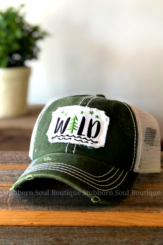 Wild Patch Hat Stubborn Soul Boutique