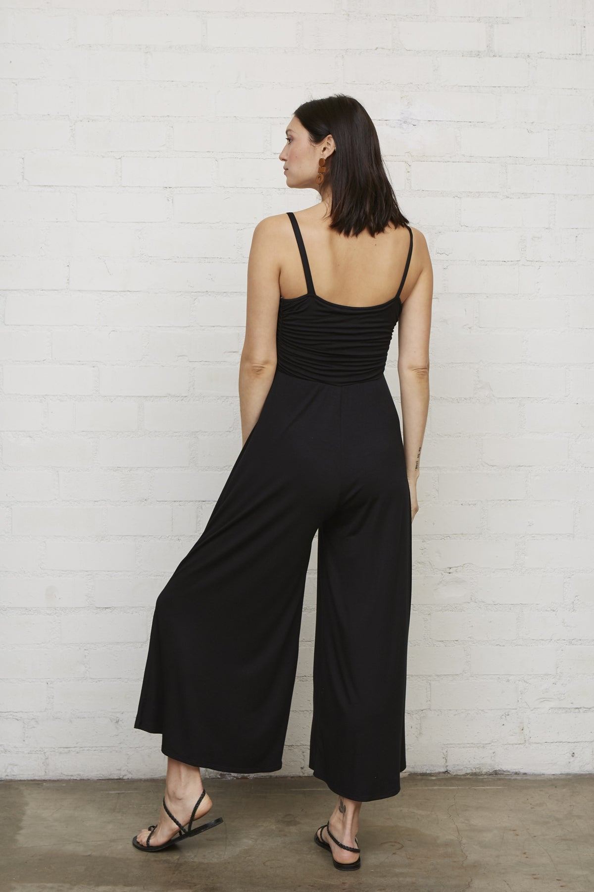 Brooks Jumpsuit - Black, Maternity