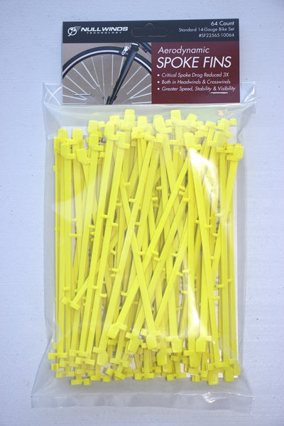 Standard SPOKE FINS/64-Count/Neon Yellow