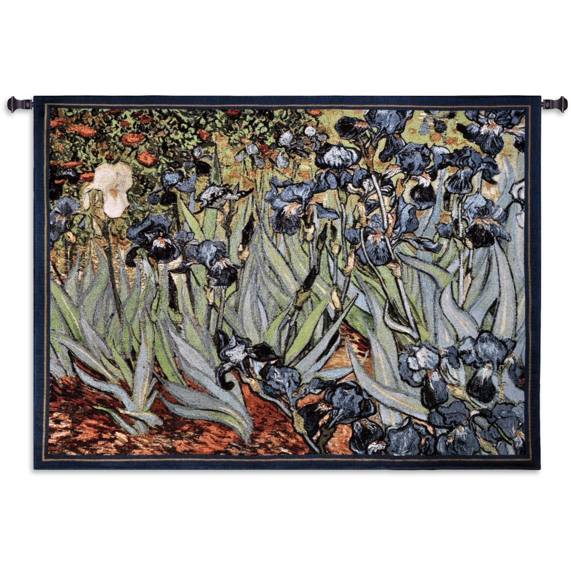Van Gogh Floral Tapestry Wall Hanging