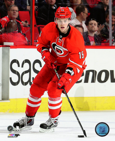 Andrej Nestrasil 8x10 Carolina Hurricanes Red Uniform