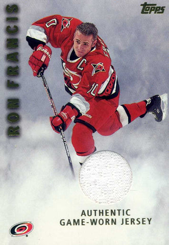 2001-02 Topps - Game Worn Jersey  # J-RF Ron Francis
