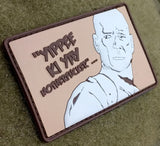 Patch Squad Men's Funny John Mcclane Die Hard Movie Yippee Ki Yay Patch