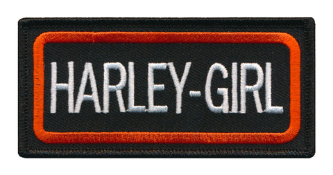 Harley Girl Swag Embroidered Patch