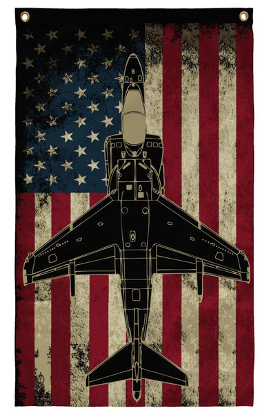 Flags - AV-8B Harrier Wall Flag
