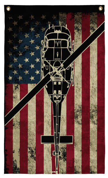 Flags - Awesome UH-1 Huey Display Flag