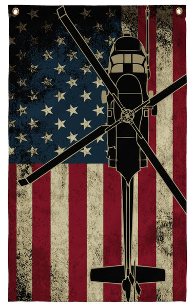 Flags - MH-60 Hanging Wall Flag