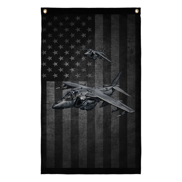 Awesome AV-8B Display Flag