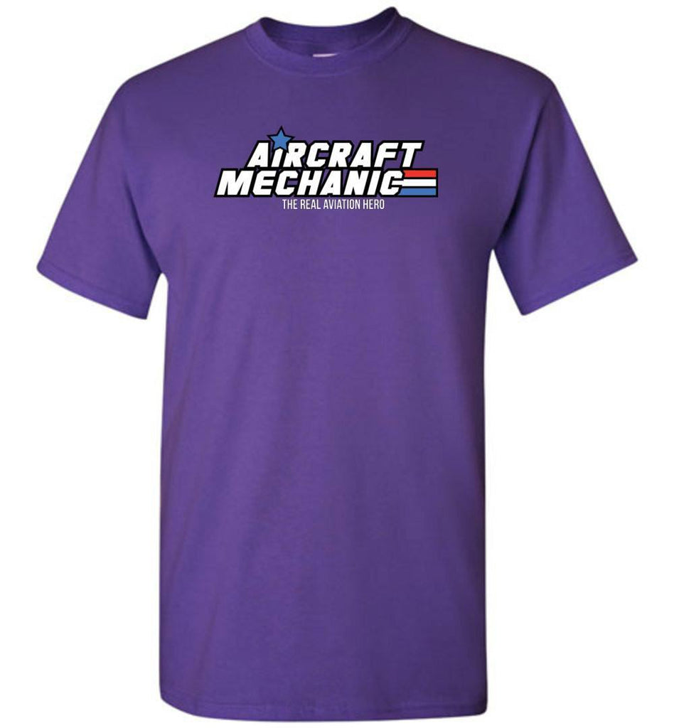 T-shirt - Aircraft Mechanics: The Real Aviation Heroes!