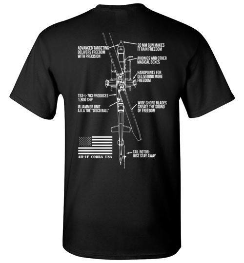 T-shirt - Awesome AH-1 Freedom Shirt!