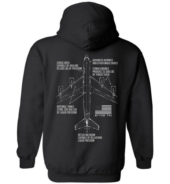 T-shirt - KC-135 Brings The Freedom Hoodie!