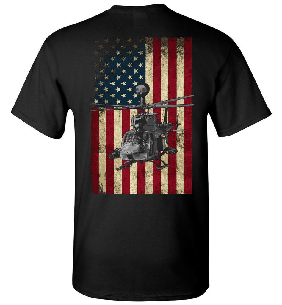 T-shirt - OH-58D Vintage Flag Shirt