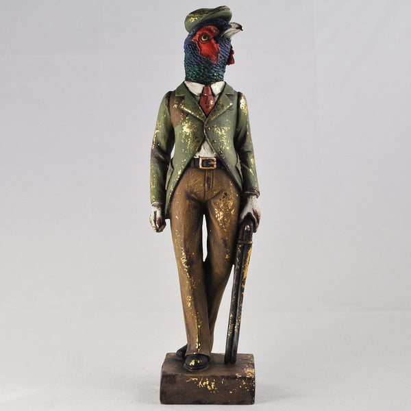 Dapper Pheasant on the Hunt - Prezents.com