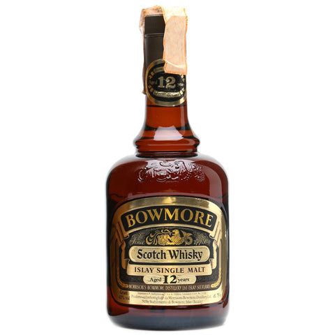 Bowmore 12yo 1980s Dumpy Islay Single Malt Scotch Whisky