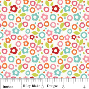FQ0187 Alphabet Soup Girl - Zoe Pearn Designs - Riley Blake