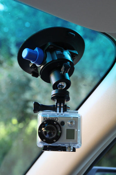 ALZO Suction Cup Mount Standard Ball Head on windshield