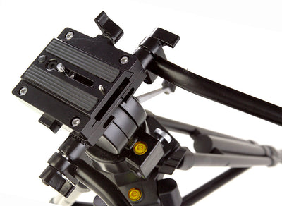 ALZO ProPod V Fluid Pan Head Video Tripod top view