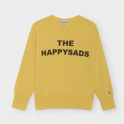 Pullover Happy Sads Yellow