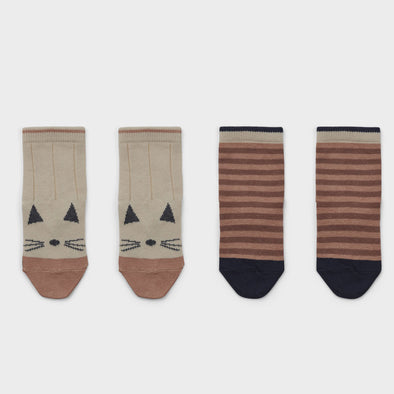 Socken Cat Stripe 2-er Pack