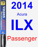 Passenger Wiper Blade for 2014 Acura ILX - Vision Saver