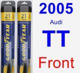 Front Wiper Blade Pack for 2005 Audi TT - Assurance