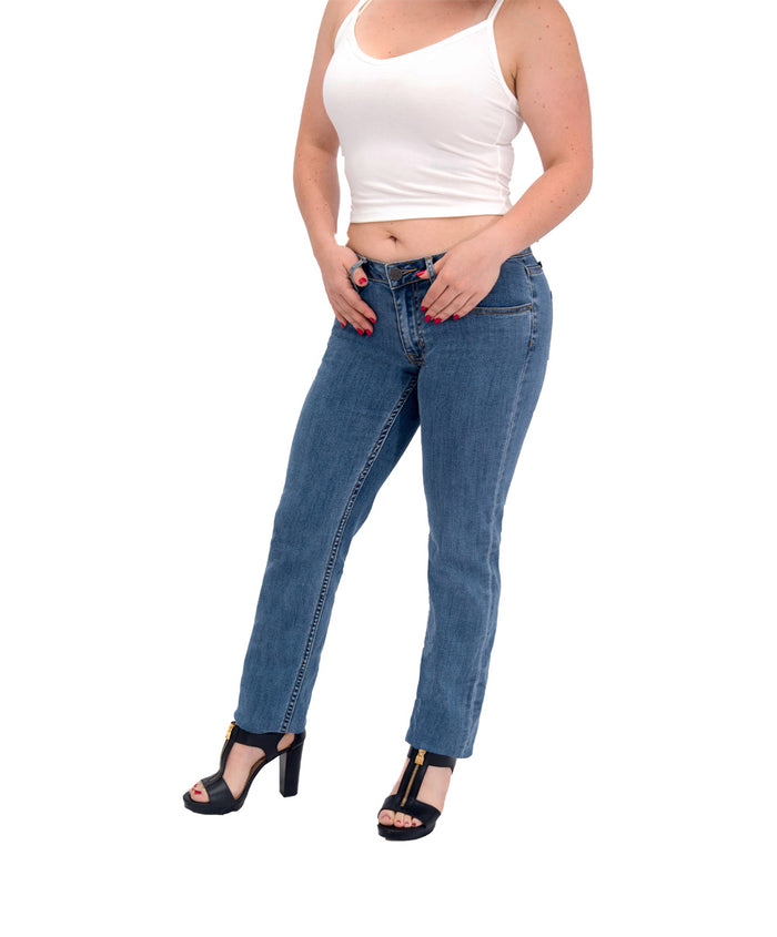 Women's Athletic Fit Jeans | Keirin Cut Jeans - Straight Leg - Carson