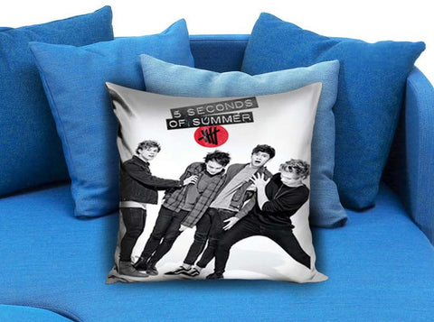 5 Second Of Summer Photoshot Pillow Case