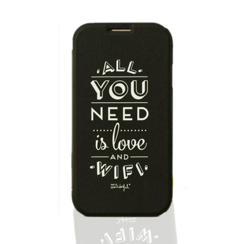 All You Need Is Love And Wifi Phone Cover