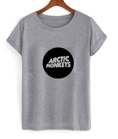 Arctic monkeys Grey T Shirt