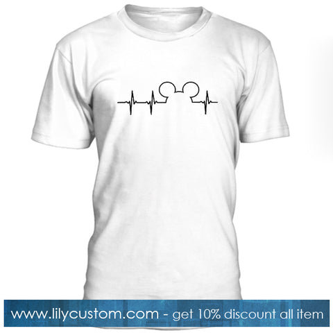 Mickey Mouse Heartbeat T Shirt