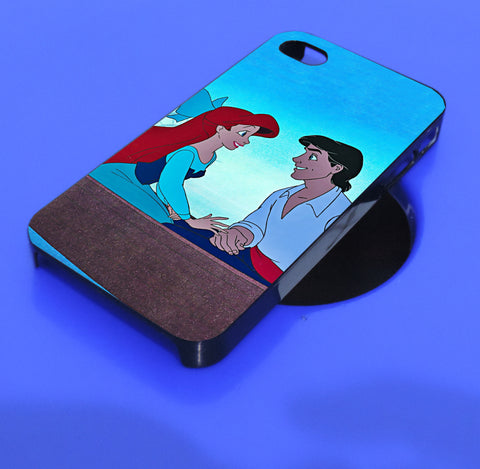 ariel little mermaid love eric iPhone, iPod, and samsung galaxy case