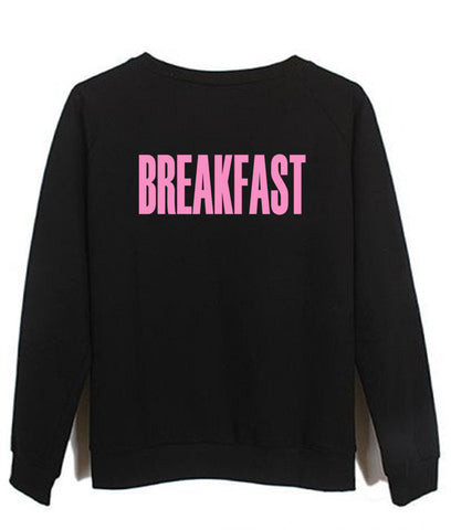 breakfast sweatshirt
