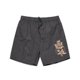 Beach Shorts - Petrol Grey