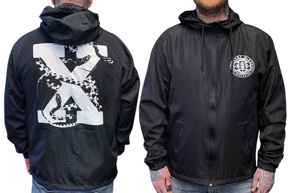 Snake X Hooded Windbreaker