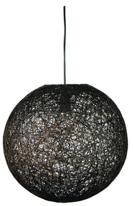 Kono 60 Abaca Pendant Dark Brown
