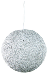 Kono 60 Abaca Pendant Antique White