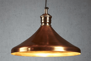 Pendant Light Barbados Hanging Lamp Copper