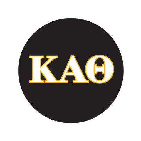 KAPPA ALPHA THETA IN COLORS Decorative Bathroom Sink Stopper Toppers