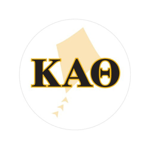 KAPPA ALPHA THETA WITH SYMBOL Decorative Bathroom Sink Stopper Toppers