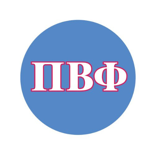 PI BETA PHI IN COLORS Decorative Bathroom Sink Stopper Toppers