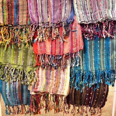 Loose Weave Scarf