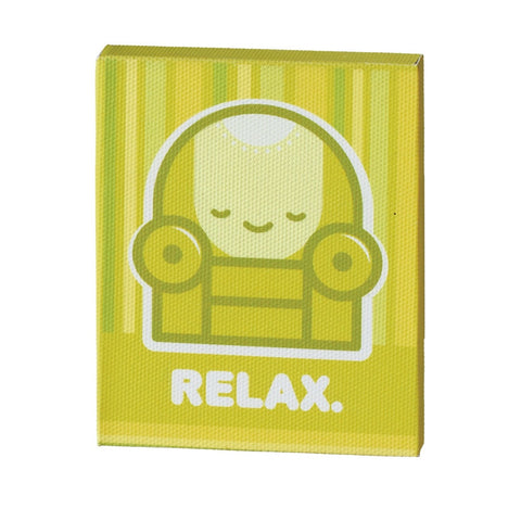 #118917 - RELAX MAGNET MDF CANVAS  -  48/CASE