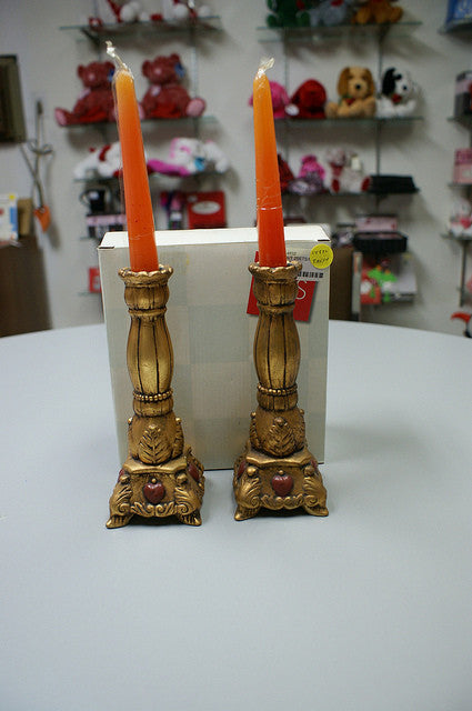 #14832 - ROMAN.TREASURE CANDLESTICKS GB  -  12/CASE